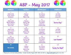 May ASP Calendar