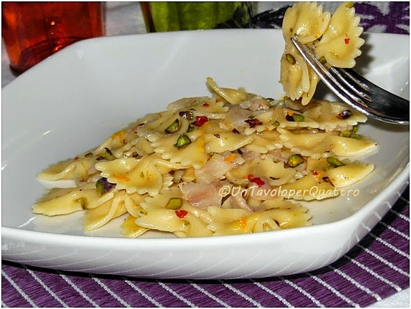 Ricette pasta pesce spada affumicato
