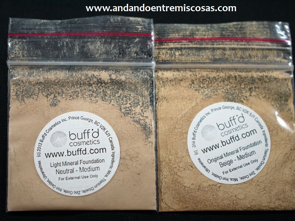 Bases Minerales, Neutral Medium y Beige Medium
