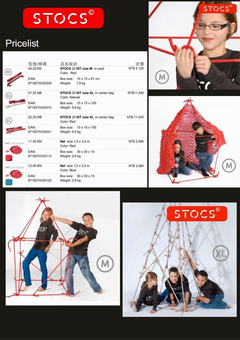 STOCS 產品規格