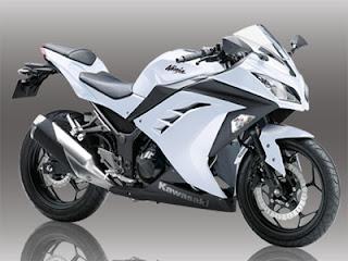 ninja 250 putih