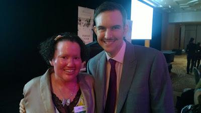 Carly Findlay and Ben Findlay