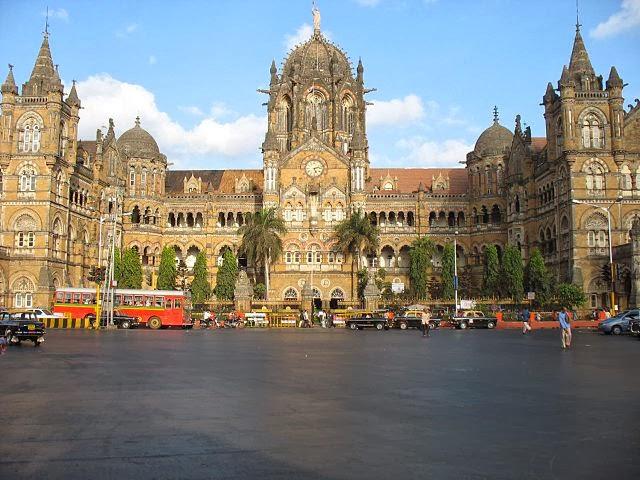 Chhatrapati Shivaji Terminus Railway Station, Mumbai, India