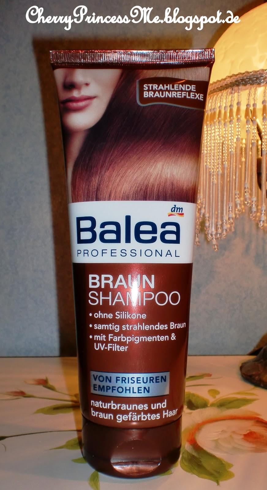 cherryprincess braun shampoo von balea. Black Bedroom Furniture Sets. Home Design Ideas