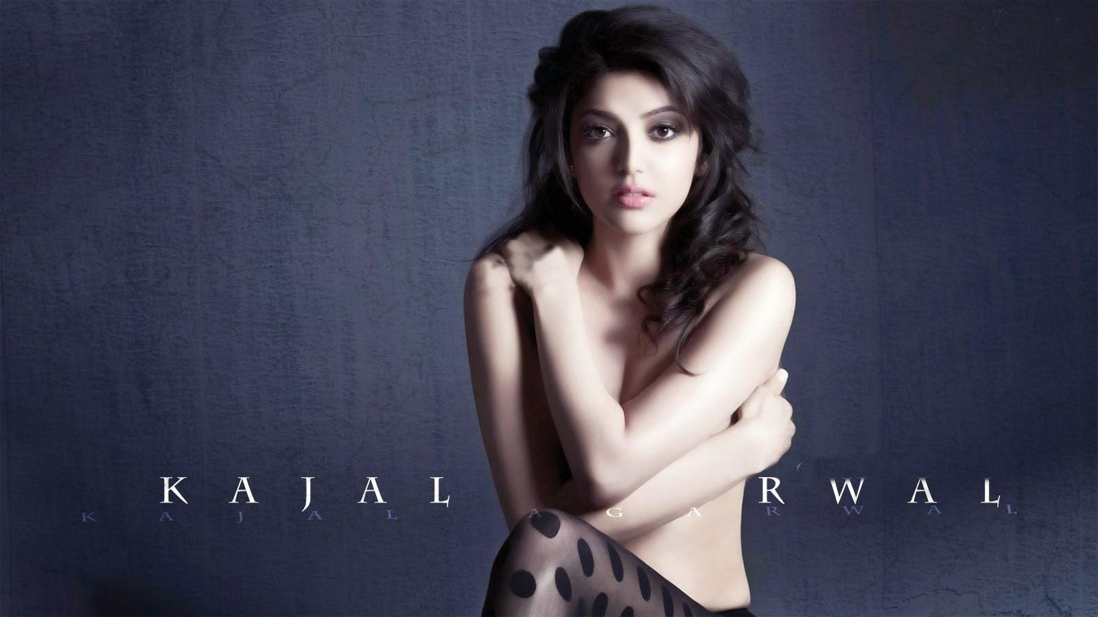 Kajal without dress