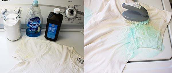 Controlling craziness laundry tips for Removing armpit stains from colored shirts