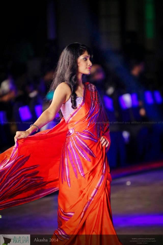 Anisha Gunaratna saree