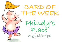Gagnante de card of the week pour le challenge Phindy's place(16 août 2011)