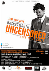 BASKETMOUTH UNCENSORED LIVE IN TORONTO@vkbmusic