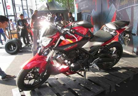 gambar Yamaha MT-25 Merah