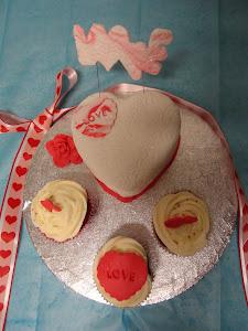 2ª PUESTO del concurso de Delicias al Horno San Valentin 2012