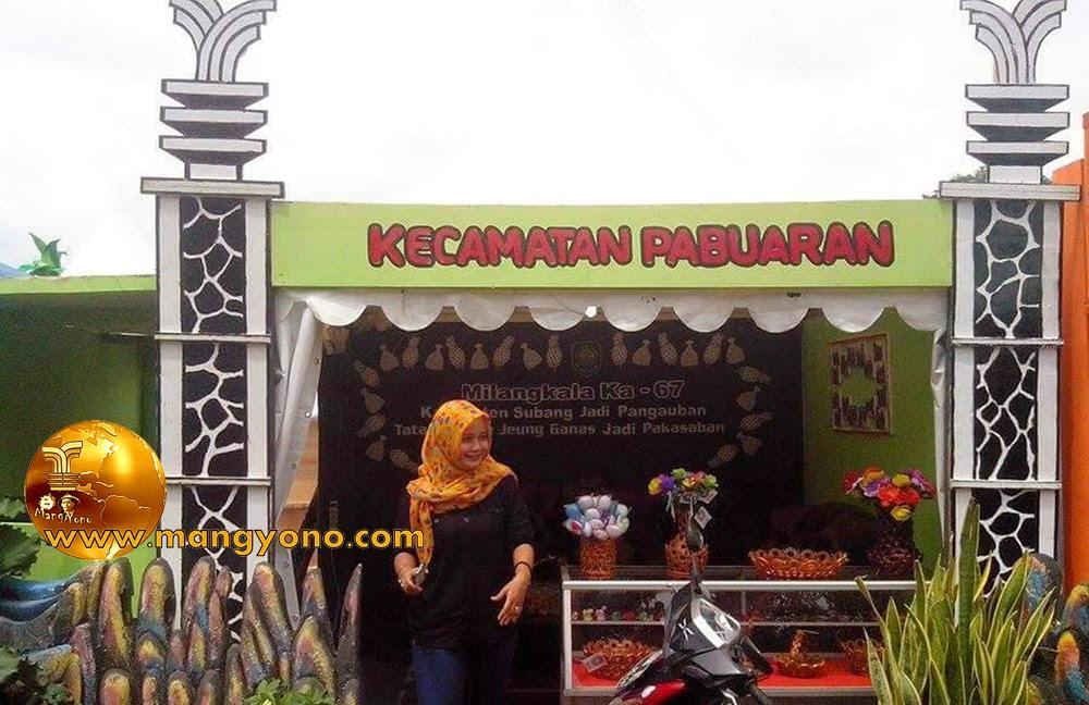 Stand Kec. Pabuaran, Pameran Pembangunan 2015.