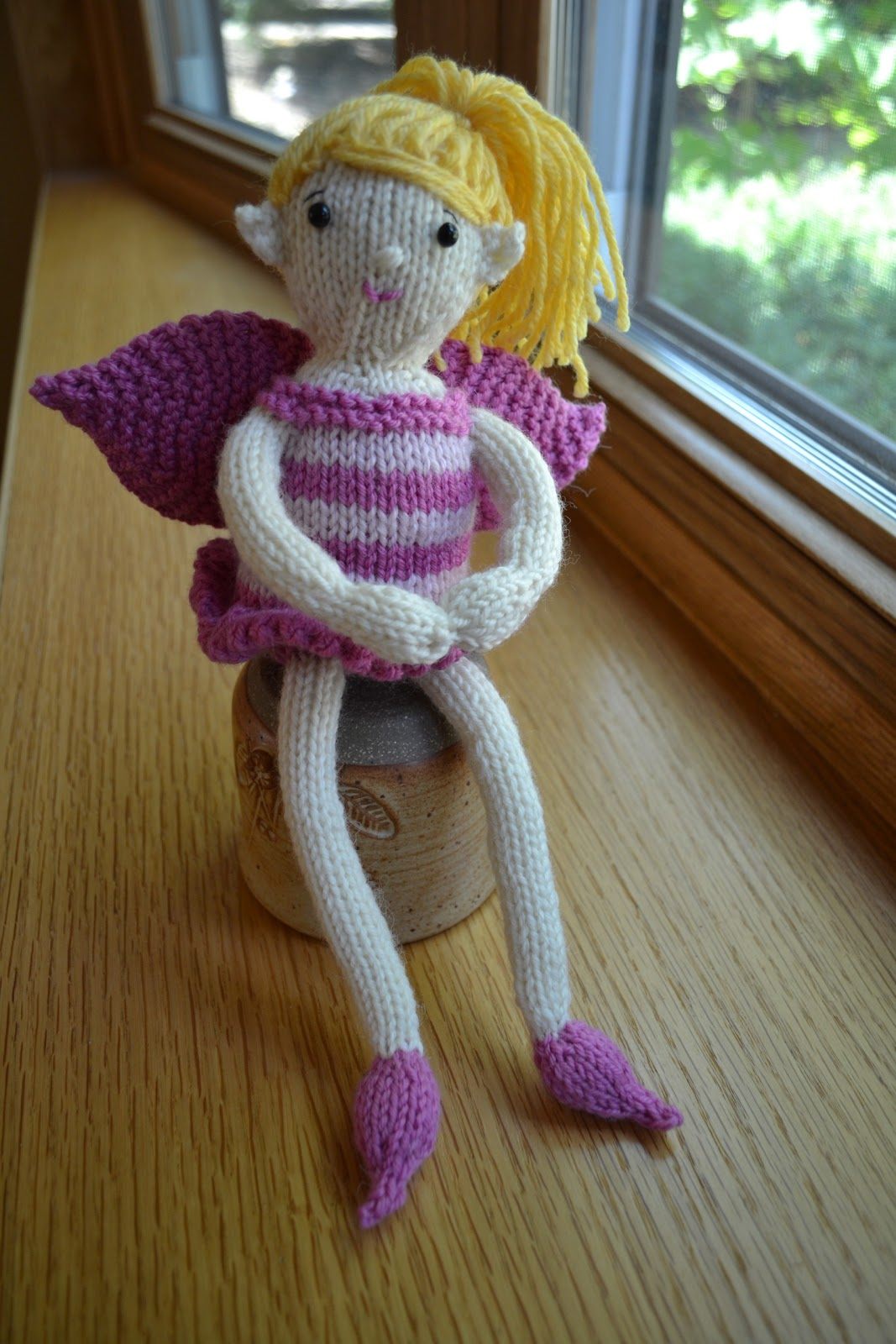 Susan B. Anderson: New Fairy Doll Pattern!
