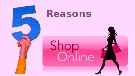 Top 5 Reasons To Shop Online