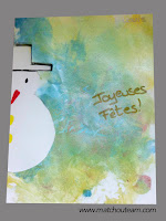 peinture joyeuses fêtes