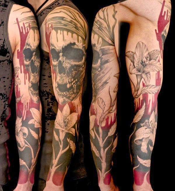 Dark Full Sleeve Tattoos Full Sleeve Tattoo Ideas