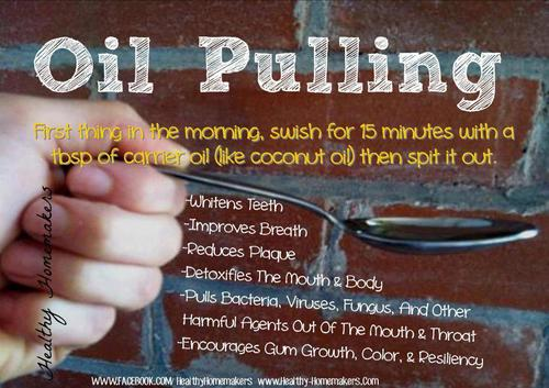 natural cures not medicine oil pulling to prevent and treat damage to teeth. Black Bedroom Furniture Sets. Home Design Ideas