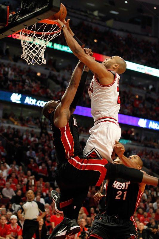 You Got Dunked On: 2011 NBA Playoffs: Taj Gibson Dunks On ...