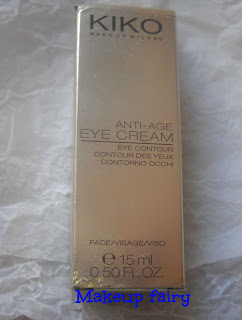 kiko antiage eye contour cream