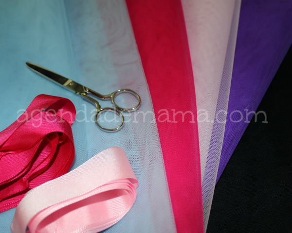 tutorial falda de tul sin coser