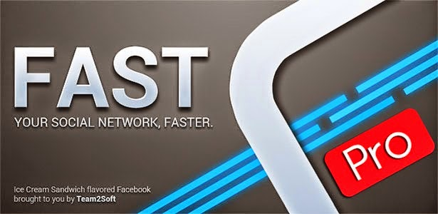 Fast Pro for Facebook V2.9 Apk cover www.ifub.net