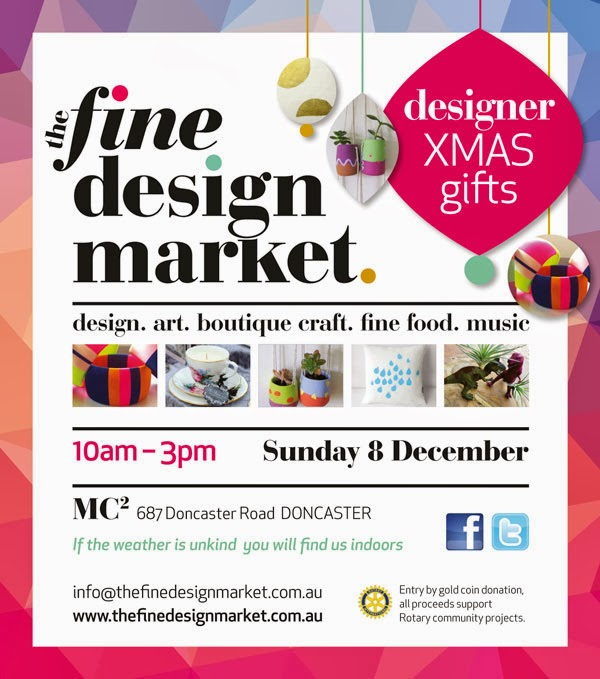 The Fine Design Market, Sunday 8 November, 10am-3pm