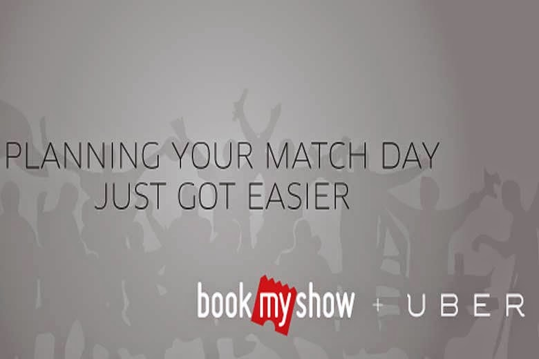 Book My Show Giving 2 Free Rides for IPL T20 Match with Uber