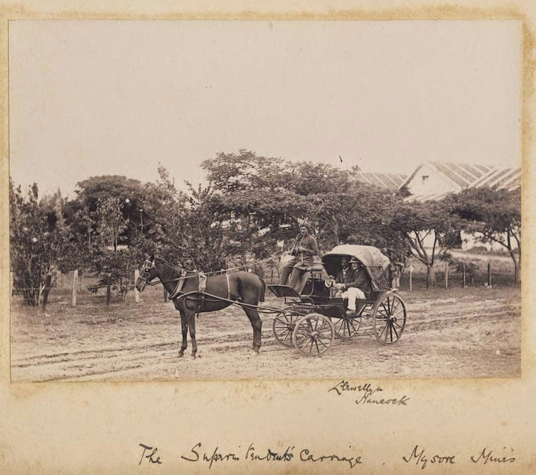 The Superintendent's Carriage, Mysore Mines - Karnataka, 1895