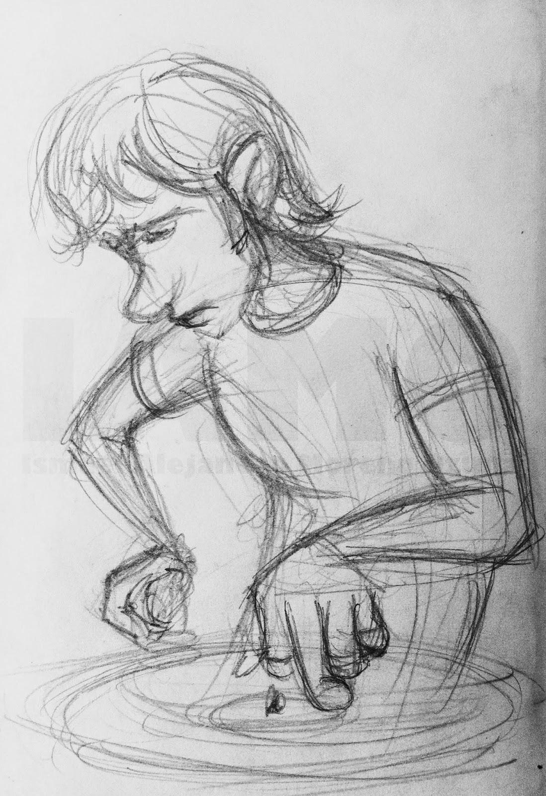 IAMO DJ sketch