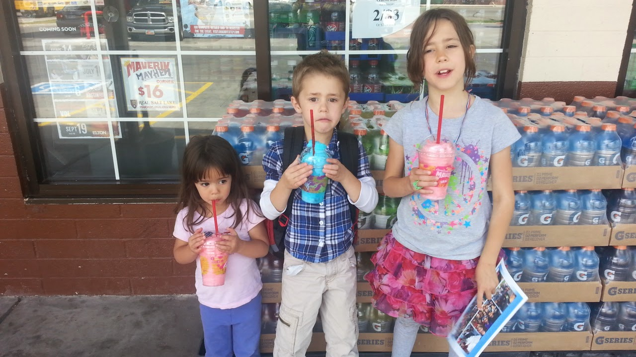 Last day of school Slurpees