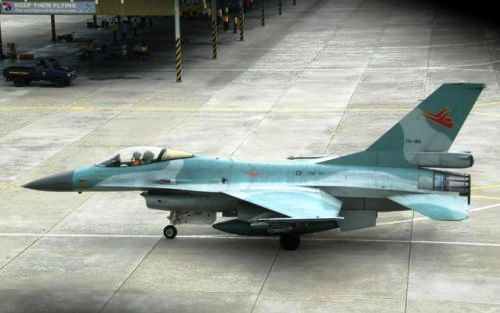 F-16A block 15 TNI AU