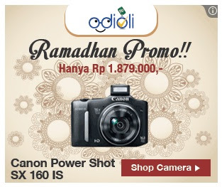 Ramadhan Promo Canon Power Shot SX 160 IS