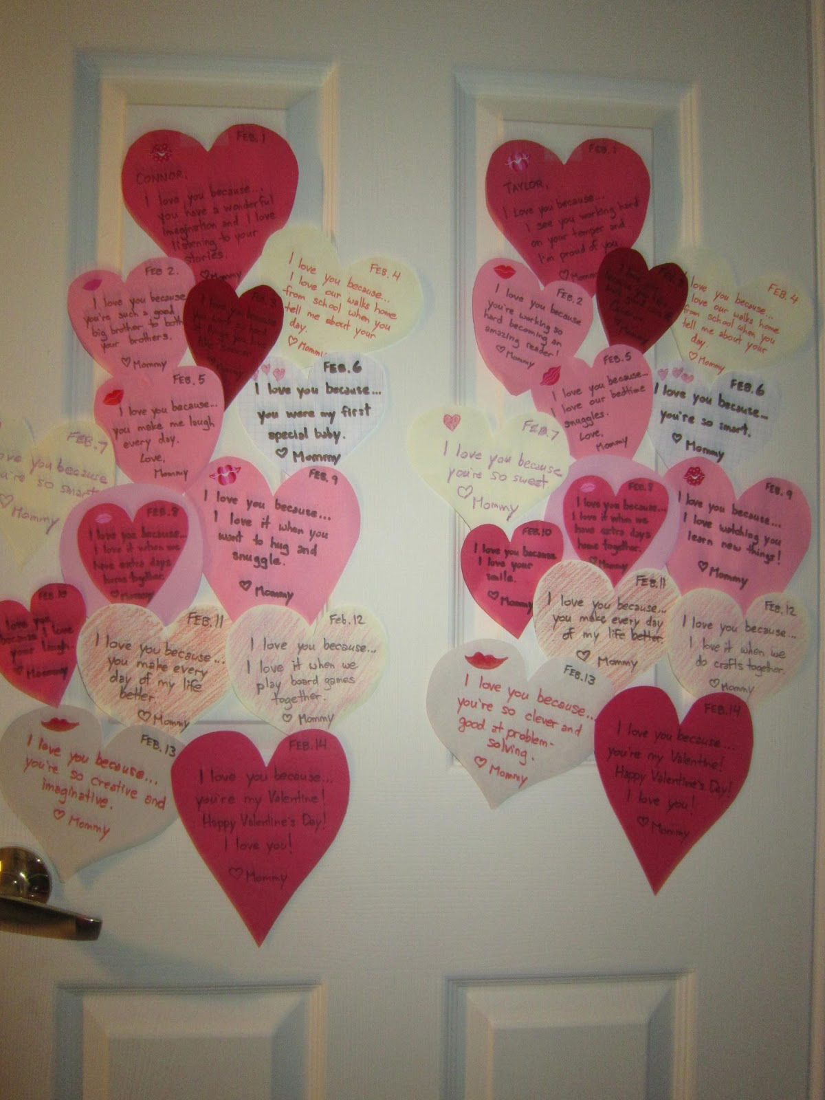 Valentines Day, kids, hearts