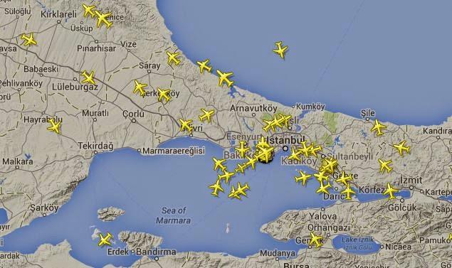 Uçakları Havada Takip Edin