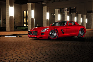 Mercedes Benz SLS 63 AMG HD Wallpaper