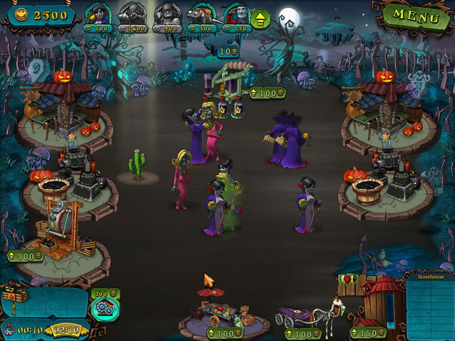Download Game Vampires VS Zombies PC Full Version Work