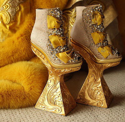 Shoes by Guo Pei