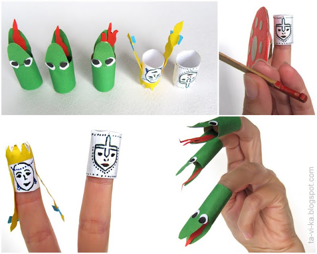 пальчиковые куклы puppet theatre craft