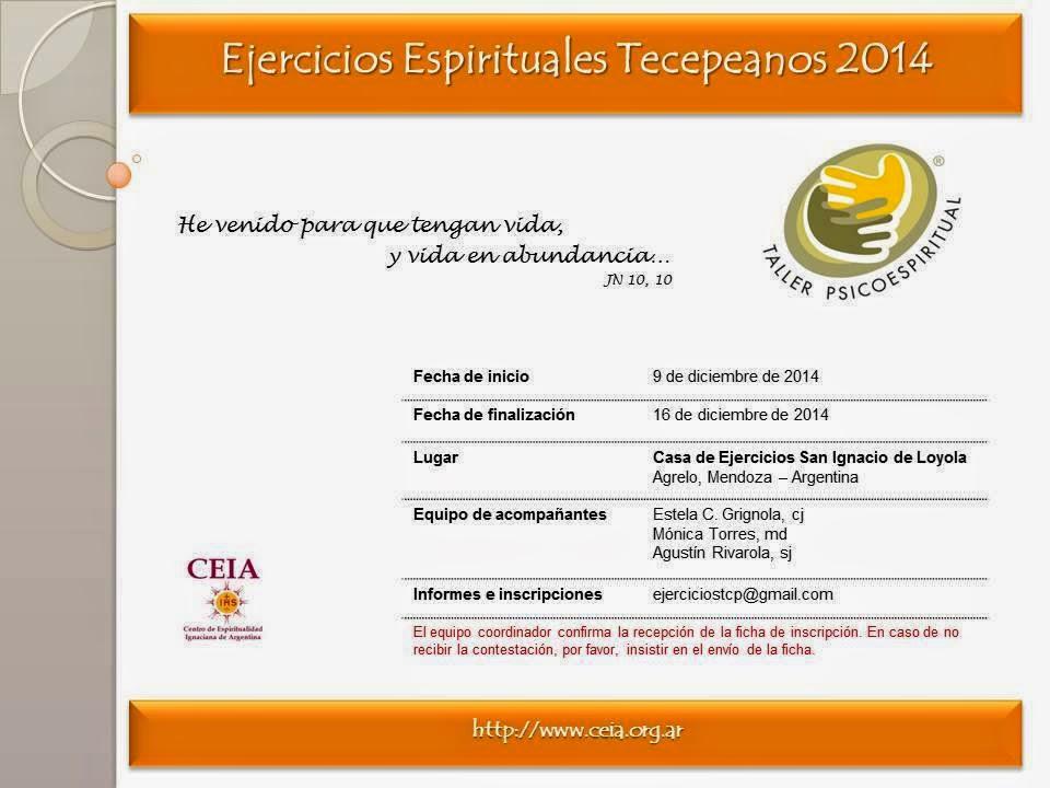 EJERCICIOS ESPIRITUALES TCP