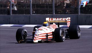 Equipe AGS de Formula 1 de 1987 - racingteamii.blogspot.com
