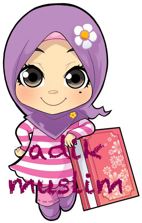 Share With Ika: Gambar Kartun Muslimah