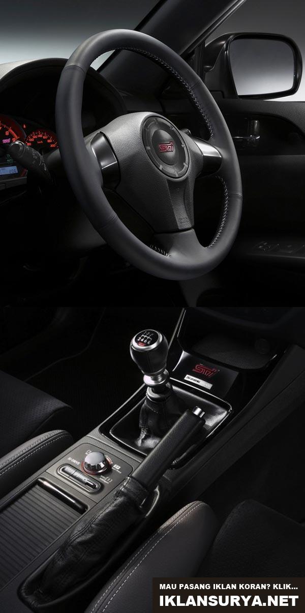 bedah mobil Subaru Impreza WRX STi S206