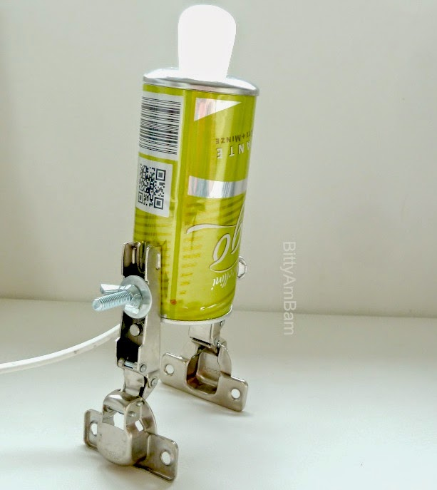 bittyambam dosen roboter lampe diy creadienstag. Black Bedroom Furniture Sets. Home Design Ideas