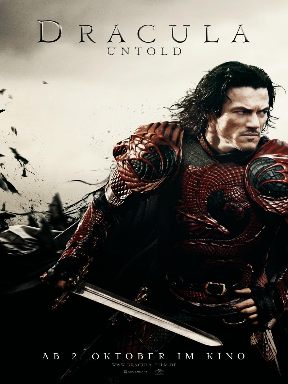 Dracula untold poster 2bred 2bdragon 2ba