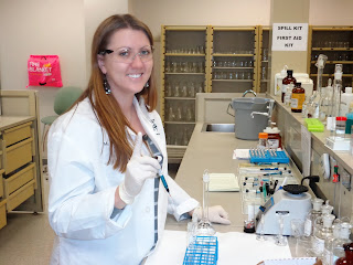 Alumna Mackenzie Dunn is a toxicologist with the Bexar County Medical Examiner's Office.
