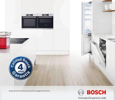 Promoción 4 años garantía Bosch