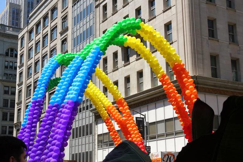 Marcha del orgullo gay en Nueva York USU