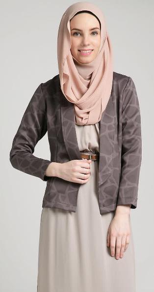 Gambar Baju Muslim Wanita untuk Kerja