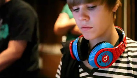 justin bieber beats by dre headphones. Beats by Dre Headphones.