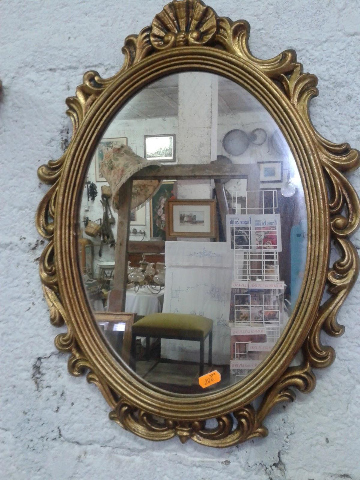 Rastrillo portobello espejos en la antigua carpinteria - Espejos dorados modernos ...
